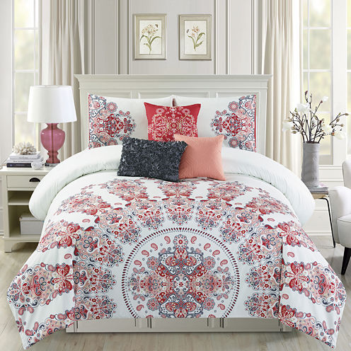 Riverbrook Home Olea 6-pc. Midweight Comforter Set