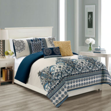 jcpenney.com | Riverbrook Home Sasha 6-pc. Midweight Comforter Set