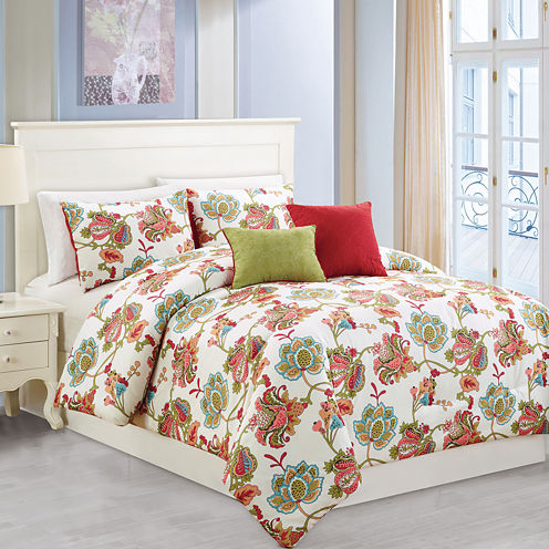 Riverbrook Home Wissler 5-pc. Midweight Comforter Set