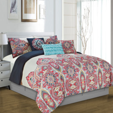 jcpenney.com | Riverbrook Home Yuri 6-pc. Midweight Comforter Set