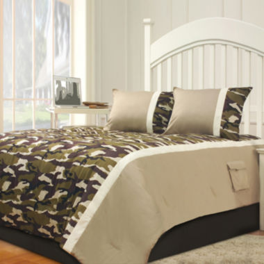 jcpenney.com | Riverbrook Home Camo 2-pc. Midweight Comforter Set