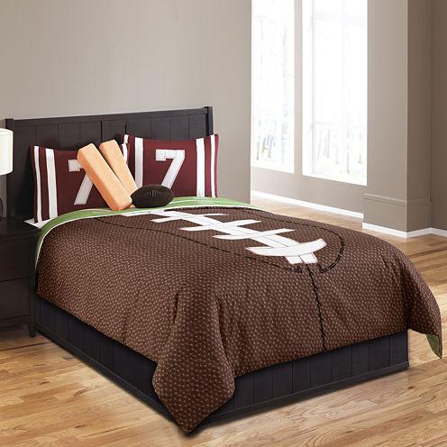 Riverbrook Home Field Goal 4-pc. Midweight Comforter Set- Twin