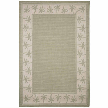 jcpenney.com | Cambridge Home Indoor-Outdoor Palm Rectangular Rugs