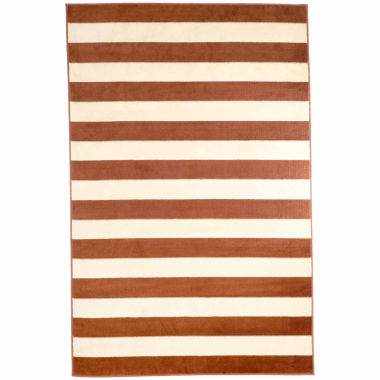 jcpenney.com | Cambridge Home Dark Amber Stripe Rectangular Rugs