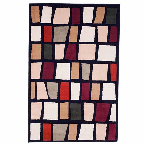 Cambridge Home Color Block Rectangular Rugs
