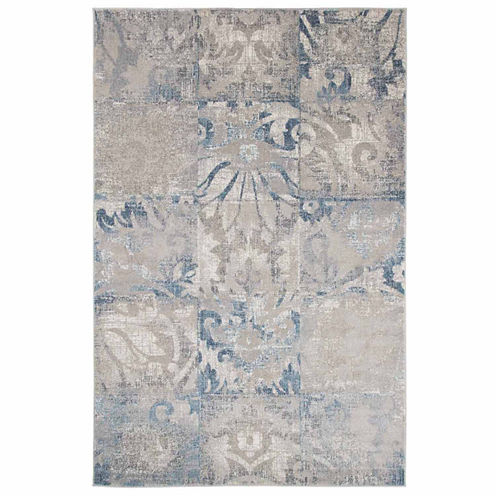 Cambridge Home Vintage Squares Rectangular Rugs