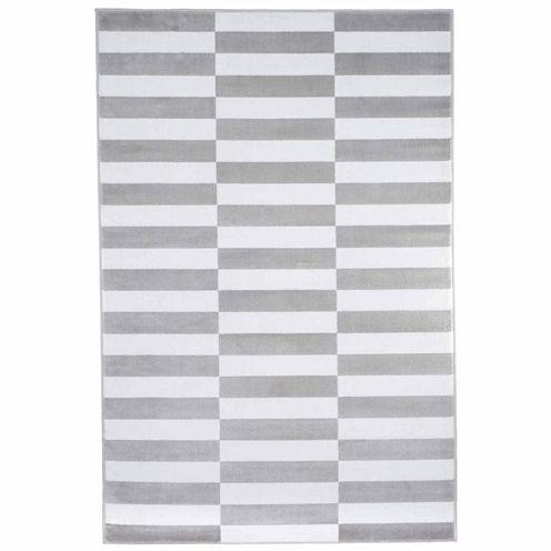 Cambridge Home Checkered Stripe Rectangular Rugs