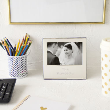 jcpenney.com | Cathy's Concepts Personalized Silver Picture Frame