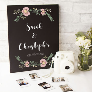 jcpenney.com | Cathy's Concepts Personalized Wedding Chalkboard Sign
