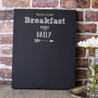 jcpenney.com | Cathy's Concepts Personalized Breakfast Menu Chalkboard