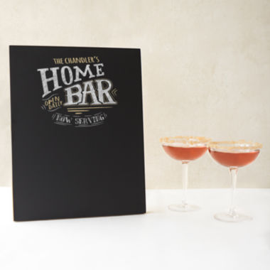 jcpenney.com | Cathy's Concepts Personalized Bar Menu Chalkboard