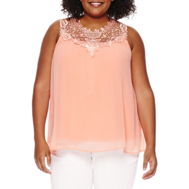 jcpenney.com | Worthington Knit Tank Top-Plus