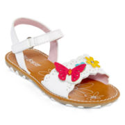 Okie Dokie® Pammy Open-Toe Sandals - Toddler