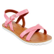 Okie Dokie® Sheri Girls Sandals - Toddler