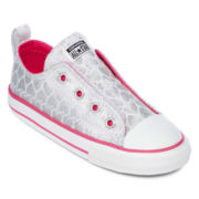 Converse Chuck Taylor All Star Simple Slip-On Girls Sneakers - Toddler