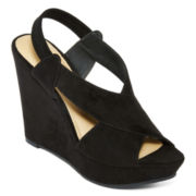 a.n.a® Mindy Wedge Sandals