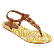 Mixit™ Tribal T-Strap Sandals