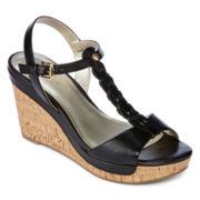 Liz Claiborne® Kay Braided Wedge Sandals