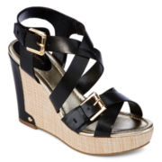 Liz Claiborne® Camden Wedge Sandals