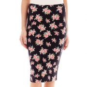Decree® Midi Bodycon Print Skirt