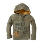Burt's Bees Baby™ Terry Pullover Hoodie - Boys newborn-24m