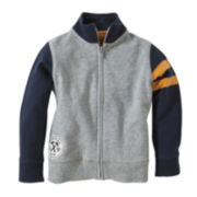 Burt's Bees Baby™ Racing Stripes French Terry Jacket - Boys newborn-24m
