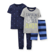 Carter's® 4-pc. Pajama Set – Baby Boy 6m-24m