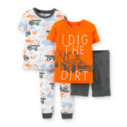 Carter's® 4-pc. Pajama Set – Boys Toddler 2t-5t