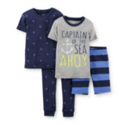 Carter's® 4-pc. Pajama Set - Boys Toddler 2t-5t
