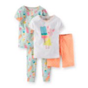 Carter's® 4-pc. Pajama Set – Baby Girl 6m-24m