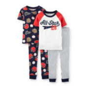 Carter's® 4-pc. Pajama Set - Baby Boy 6m-24m