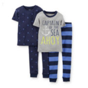 Carter's® 4-pc. Captain Pajama Set - Boys 2t-5t