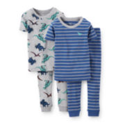 Carter's® 4-pc. Dinosaur Pajama Set – Boys 4-7
