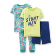 Carter's® 4-pc. Stunt Man Pajama Set – Boys 4-7