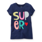Carter's® Short-Sleeve Super Tee – Girls 2t-5t