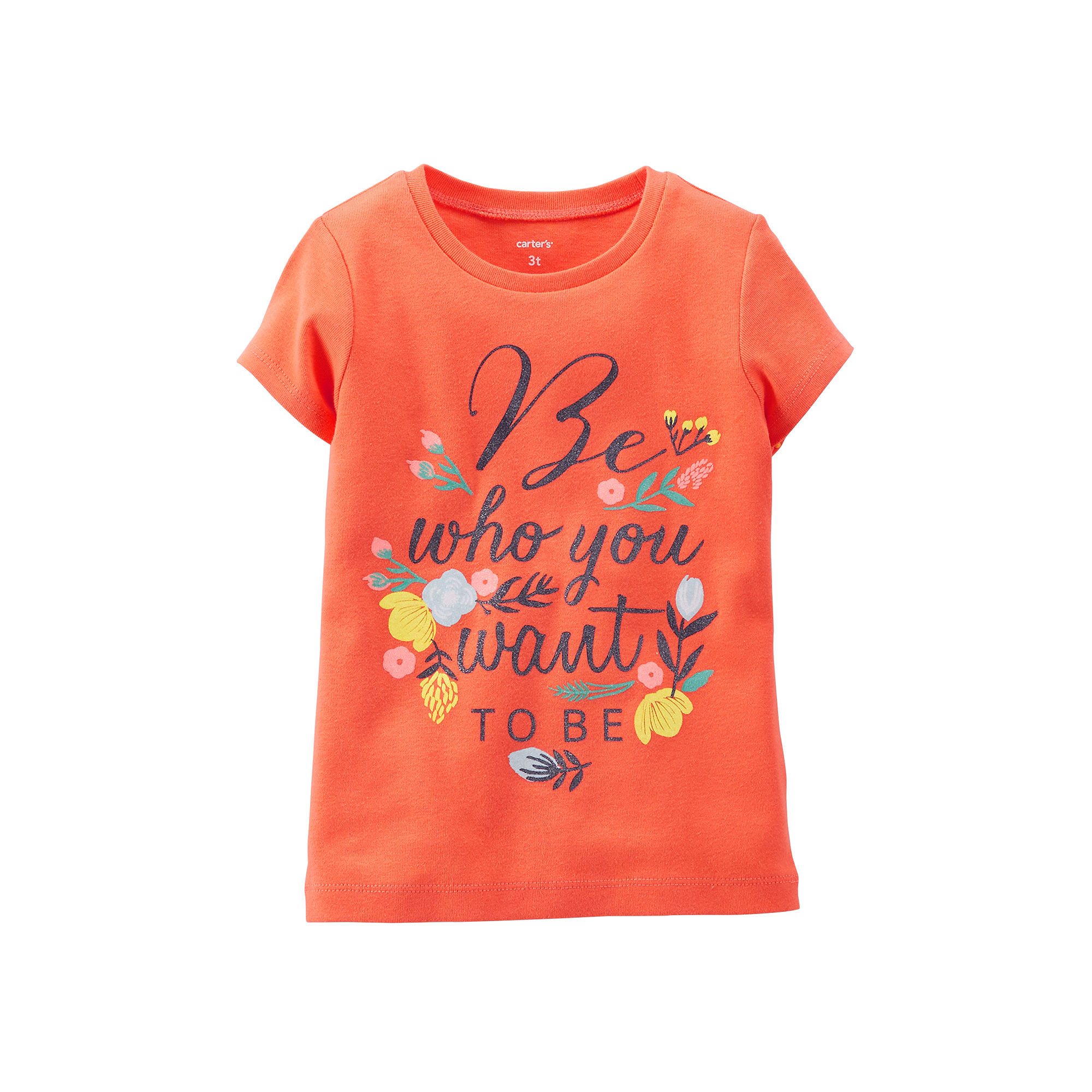 1729d0e38 UPC 888510527268 - Carters Graphic Tee - Girls Toddler 2t-5t ...