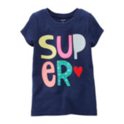 Carter's® Super Tee - Preschool Girls 4-6x