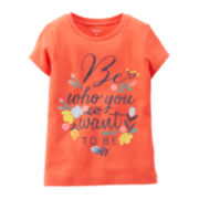 Carter's® Graphic Tee - Preschool Girls 4-6x