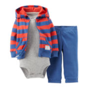Carter's® 3-pc. Cardigan Set - Boys newborn-24m