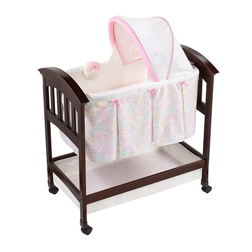 Summer Infant® Classic Comfort Wood Bassinet - Bedtime Blossom