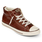 Converse Chuck Taylor Street Mid Leather Mens Sneakers