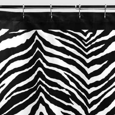 jcpenney.com | Creative Bath™ Zebra Shower Curtain