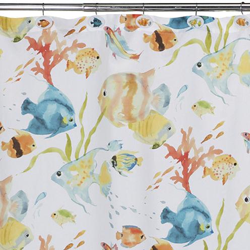 Creative Bath™ Rainbow Fish Shower Curtain