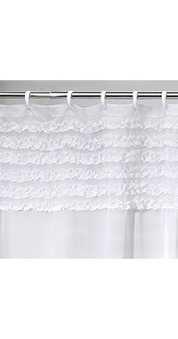 jcpenney.com | Creative Bath™ Ruffles Shower Curtain