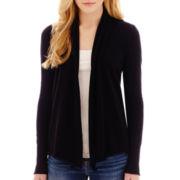 Stylus™ Long-Sleeve Flyaway Cardigan Sweater