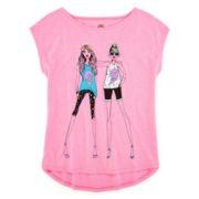 Total Girl® Graphic Tee - Girls 7-16 and Plus