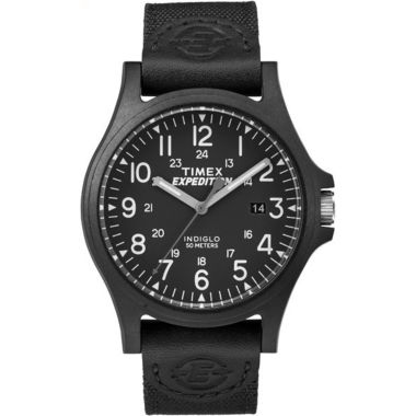 jcpenney.com | Timex Expedition Acadia Mens Black Strap Watch-Tw4b081009j
