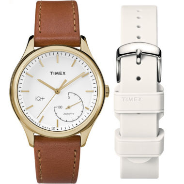 jcpenney.com | Timex IQ+ Move Womens Brown Smart Watch-TWG013600F5