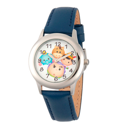 Disney Tsum Tsum Boys Blue Strap Watch-Wds000123