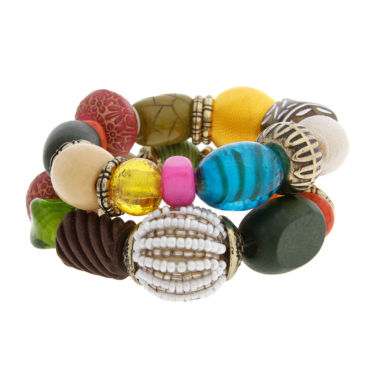 jcpenney.com | EL by Erica Lyons Womens Beaded Bracelet